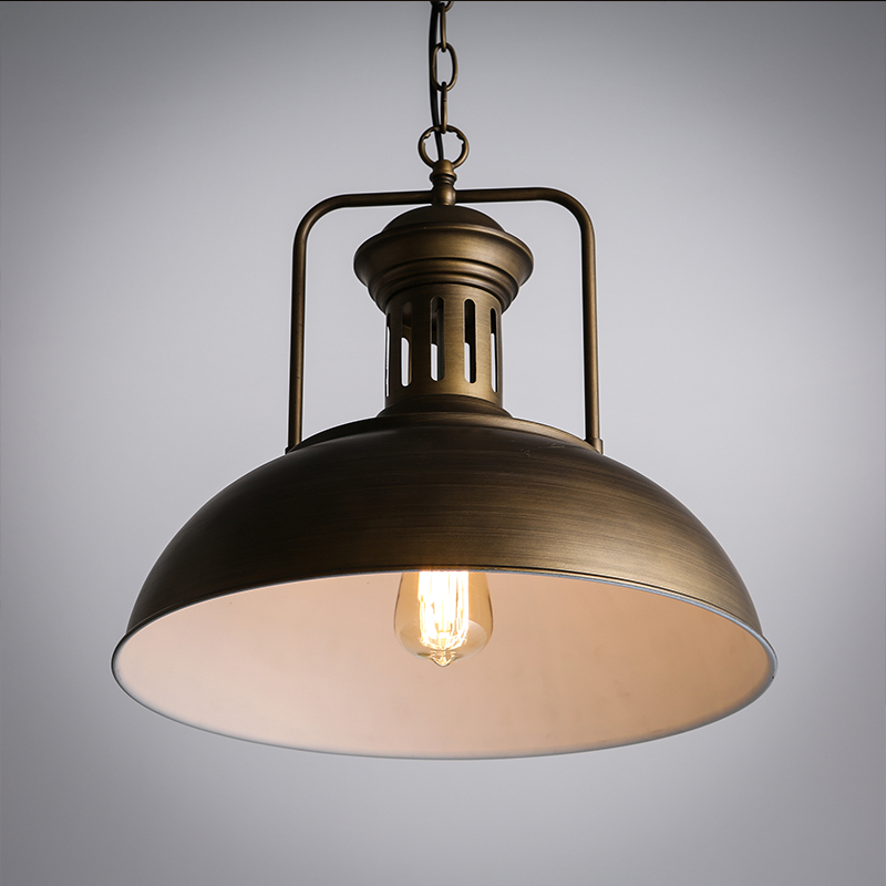 industrial style pendant lighting. aliexpresscom buy dome pendant light black u0026 brown loft vintage industrial style billiards cafe wrought iron restaurant bar from reliable lighting h