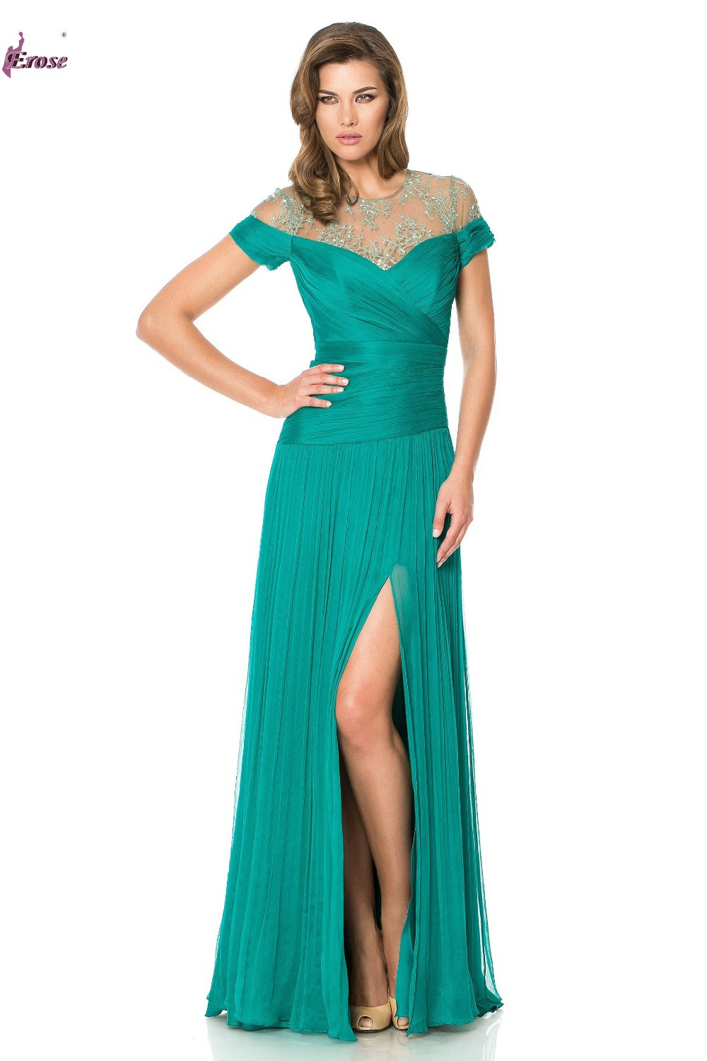 Popular Teal Evening Gown-Buy Cheap Teal Evening Gown lots from ...