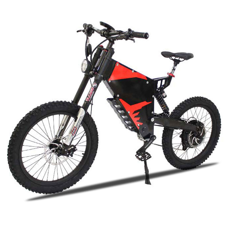 US $3882 0 14% OFF|Custom E MOTOR Electric motorcycle 72V 3000W/5000W Ebike  Plus Stealth Bomber Stealth electric mountain bike off road ebike EMTB-in