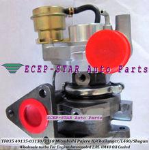 TF035-12T-4 49135-03130 49135-03310 Turbo Turbocharger Fit For Mitsubishi Pajero II Challanger L400 Shogun Intercooled 4M40 2.8L