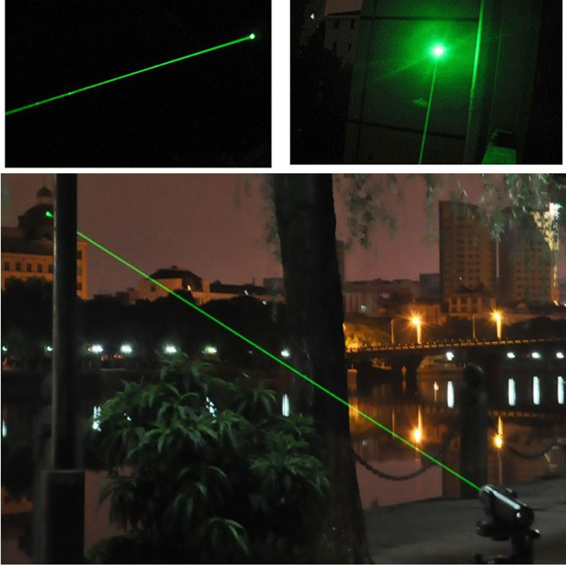 Lazer Pen Pointer 532nm 5mw Green Light Laser 303 Puissant Turning - Éclairage commercial - Photo 6
