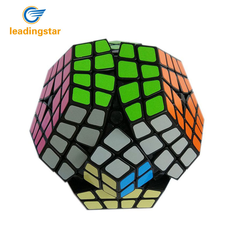2016 Newest Shengshou Puzzle Cube 4×4 Megaminx Speed Cube Dodecahedron  Brain Teaser Kids Toy White And Black Toys for Children