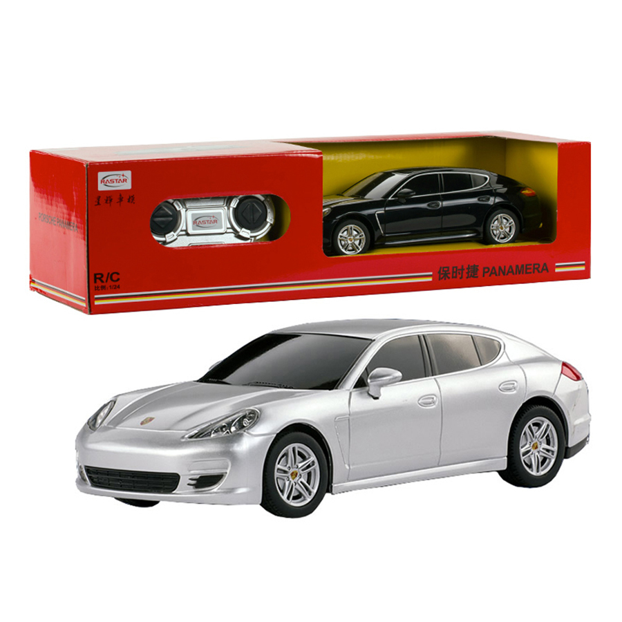 brand original 124 rastar 4ch remote control car radio controlled toys for boys girls rc cars kids birthday gifts 46200