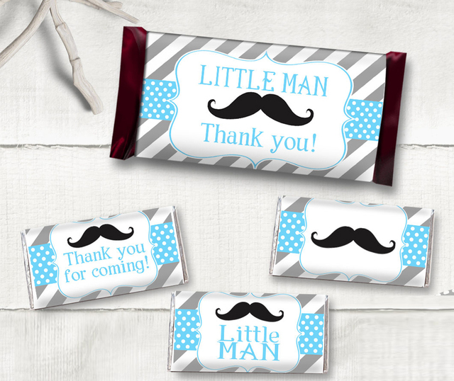 48 Personalized Candy Wrapper Supplies Wedding Chocolate Bar