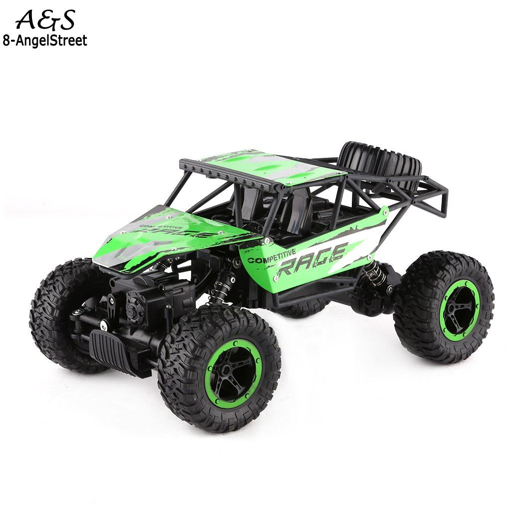 Kids New Children Boys Rock Crawler Auto Interesting Truck Chargable Cars Toys Set