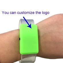 2018 Rushed New Costume Leds 24pcs/lot Glow Party Supplies Led Luminous Flash Bracelet Strap Personality Custom Colorful