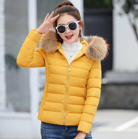 Winter Jacket Children parka New 2018 Fashion Warm Cotton-padded Coat Teenage Girls Faux Fur Collar Kids Clothes Outwear hot 2017 spring winter casual women stand collar basic coat slim thick outwear warm parka woman short cotton padded jacket p939
