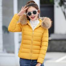 4735da9c63b Winter Jacket Children parka New 2019 Fashion Warm Cotton-padded Coat  Teenage Girls Faux Fur Collar Kids Clothes Outwear