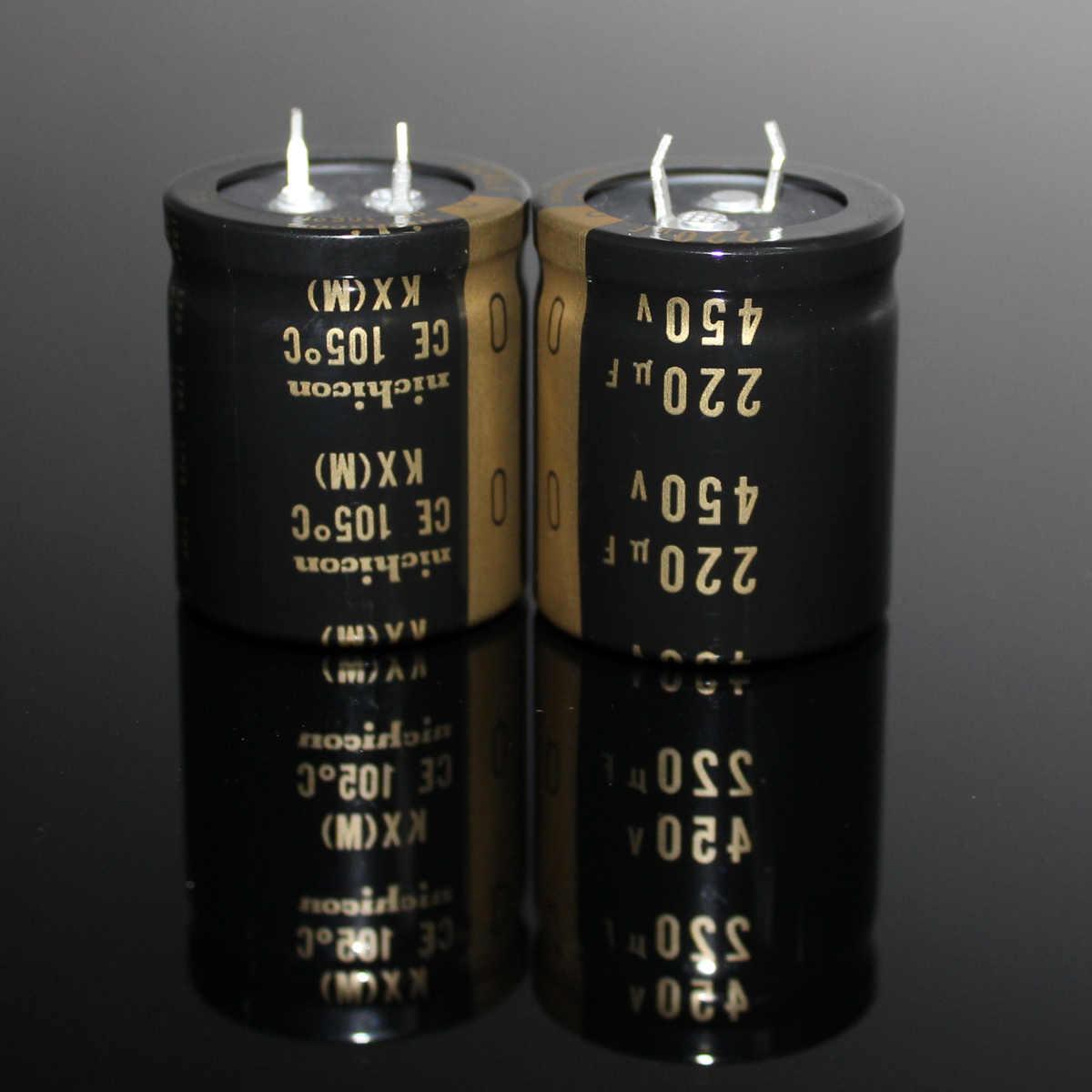 10pcs 180uF 450V Japan Nichicon GL 25x35mm 450V180uF Snap-in Capacitor