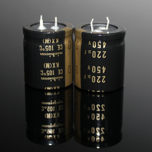 2PCS/10PCS Original Japan NICHICON KX 450V 220UF tube amplifier high voltage audio electrolytic capacitor FREE SHIPPING 100pcs 6kv 1000pf 102 high voltage ceramic capacitor