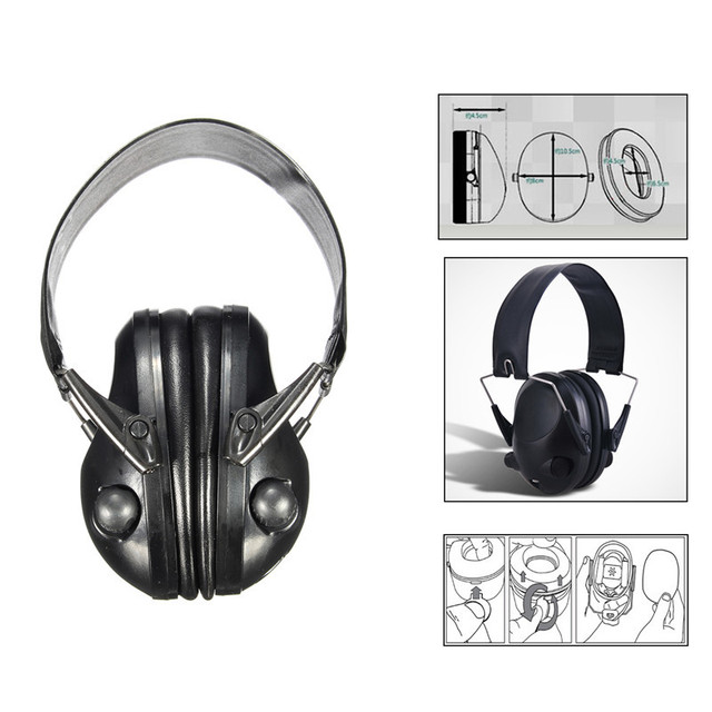 Good Sale Anti-noise Impact Sport Hunting Electronic Tactical Earmuff Shooting Ear Protectors Hearing Protection  Earmuffs