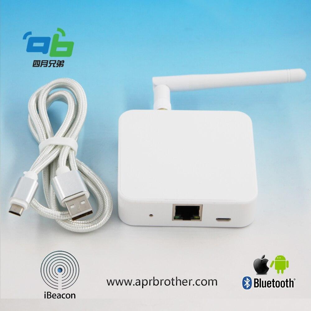Passerelle 4 BLE d'ab vers la version de réseau de pont de WiFi - 4
