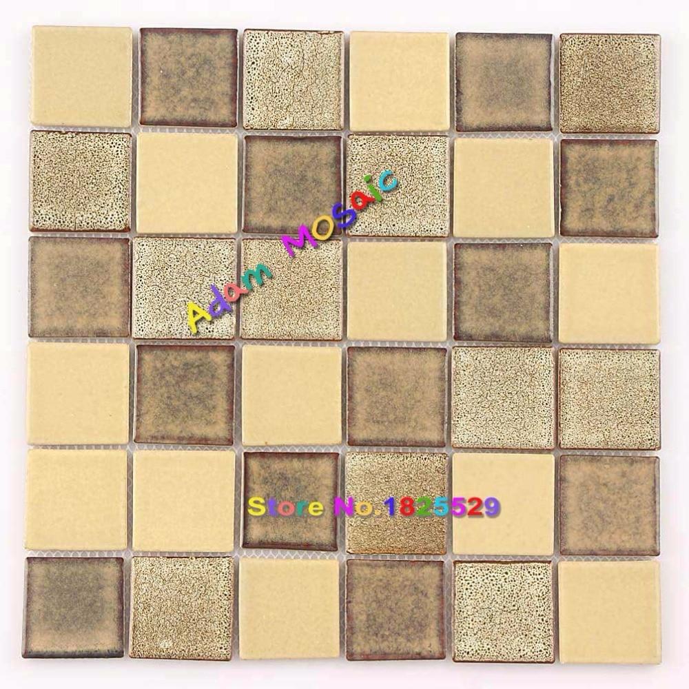 Black Tiles Hexagon Matt Porcelain Mosaic Kitchen Ceramic Tile ...