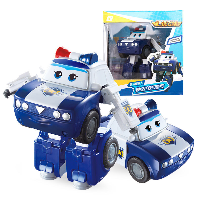 2018 New Season 5 Big Super Wings Deformation Airplane Robot Action Figures Super Wing Neo/Astro/Scoop Transformation Toys