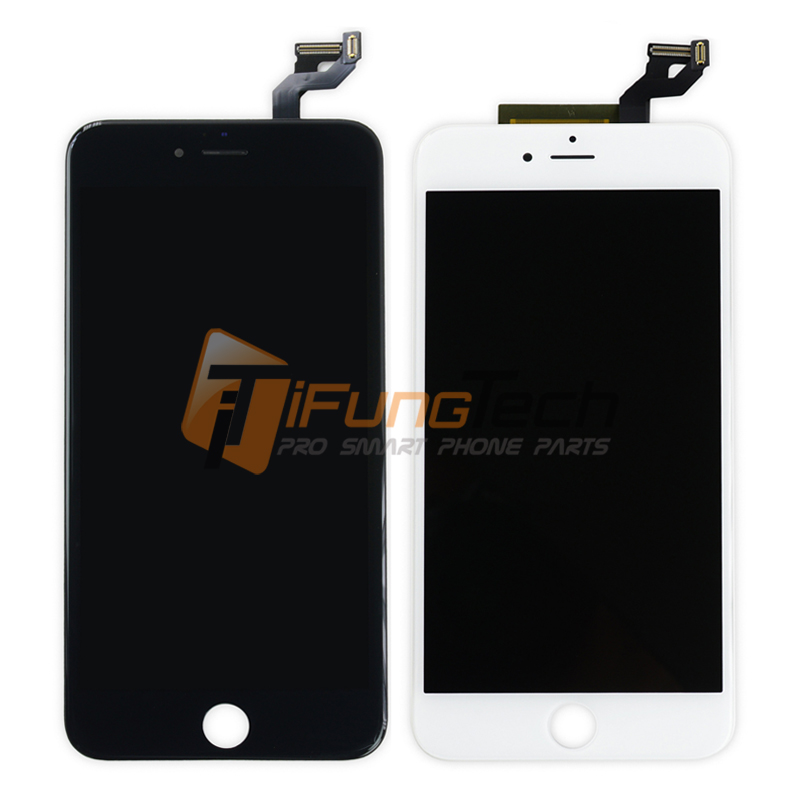 Free DHL 5PCS/LOT 5.5 inch For iPhone 6S plus LCD Display Touch Screen with Digitizer Assembly Black White Color with Warranty original 6 5 inch for pcm2 car lcd screen display panel ems dhl free shipping