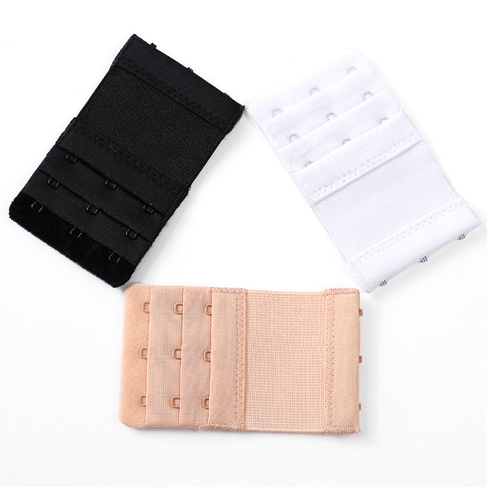 Bra Extender 3 Hooks 1 Set (5 Pieces) Women Underwear Back Buckle Extension With 3 Rows Of 3 Buckles
