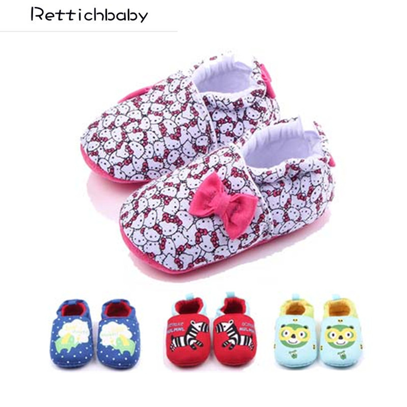 Shoes Baby-Girl First-Walkers Non-Slip Infant Autumn Cotton Cute Spring Knitting