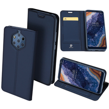 Original Dux Ducis Leather Case For Nokia 9 Pureview Coque Luxury Thin Flip Wallet Cover Nokia9 Phone Cases