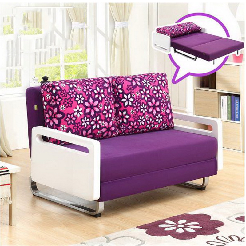US $1825.2 22% OFF|260302/1.6 m Foldable /living room small apartment /  Home sofa bed /multi function double sofa/High quality flannel-in Office  Sofas ...