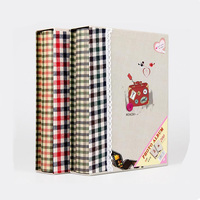 6 Inch Cloth Family Photo Album Scrapbook 200 sheets Interleaf Type Camera Photo Album With Paper Cover Free Shipping