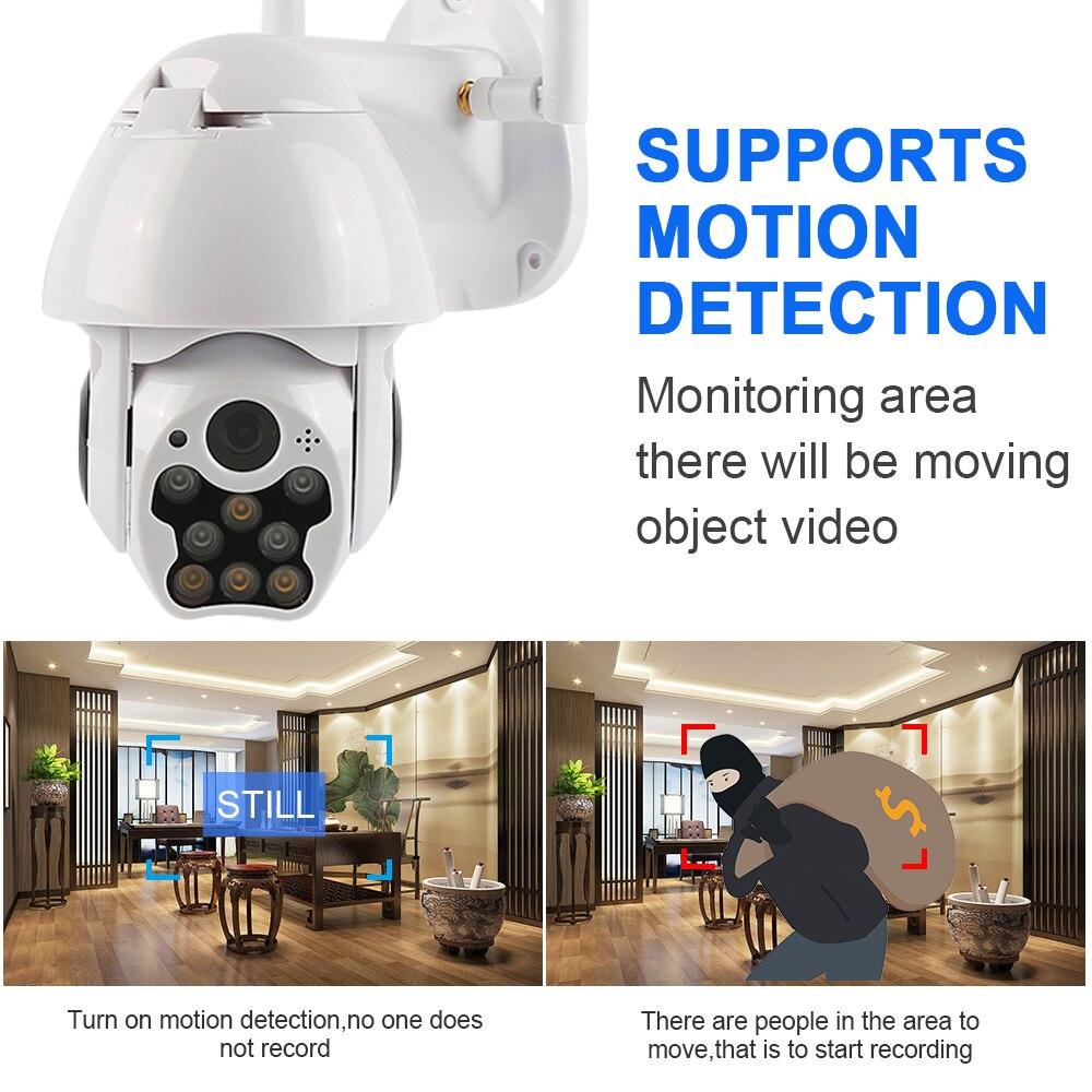 HTB1toJNeoCF3KVjSZJnq6znHFXao 1080P PTZ IP Camera Wifi Outdoor Speed Dome Wireless Wifi Security Camera Pan Tilt 4X Digital Zoom Network CCTV Surveillance
