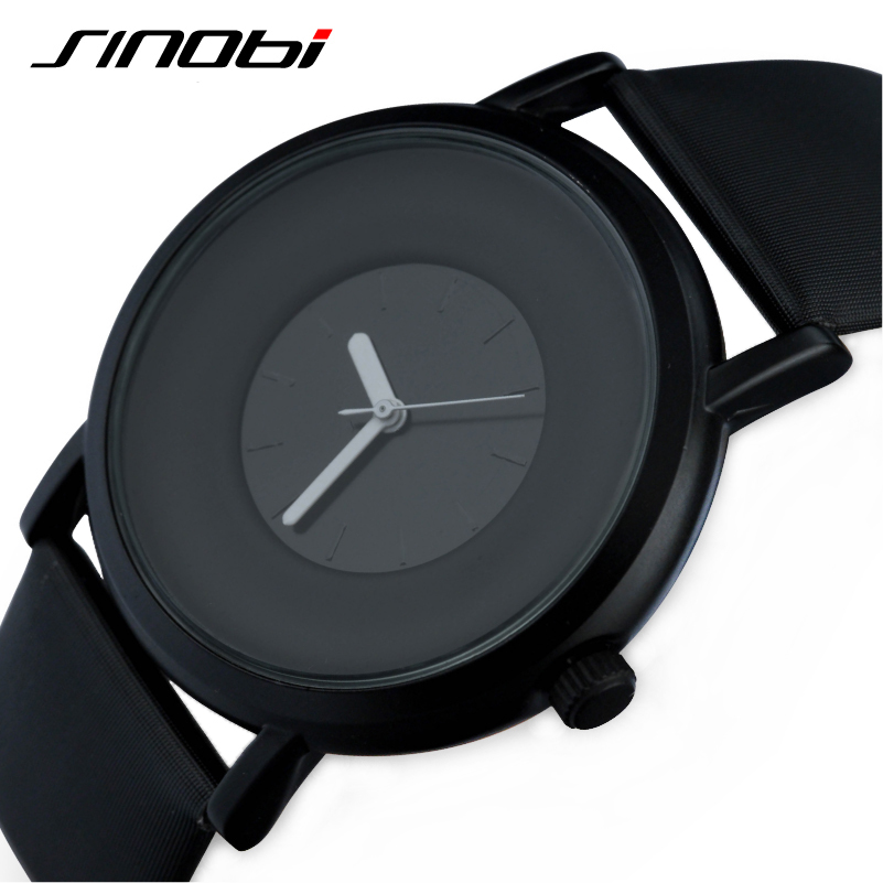 2016 Sinobi Brand New Fashion Casual font b Men b font Quartz Wristwatch Simple Elegant Style