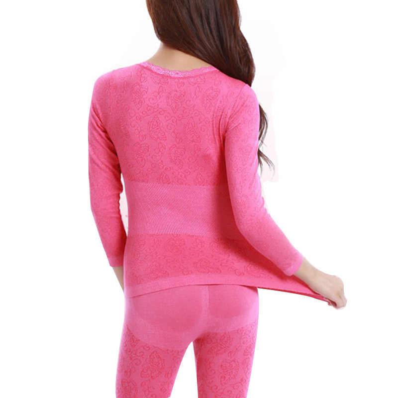 Зимние женские кальсоны термобелье из толстого модала Нижнее белье Женская одежда