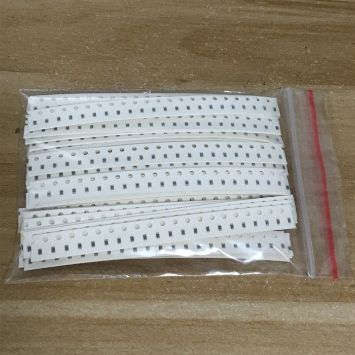 Free shipping  0603 SMD Resistor Kit Assorted Kit 1ohm-1M ohm 1% 33valuesX 20pcs=660pcs Sample Kit