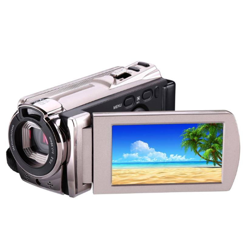 ALLOET 16X Digital Zoom 8MP 1080P HD Camera 3 Touch LCD Screen WiFi IR Night Vision Camcorder Portable Handheld Camera Video DV 4 3 lcd 3 6mp digital microscope hd zoom 1 600x high power led illumination phone repairrechargeable lithium battery camera