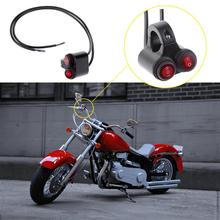 Универсальный мотоцикл Руль управления для мотоциклов двойного переключателя on/off Пуговицы 7/8in Руль управления для мотоциклов Мотоцикл фар головного лампа Ангел глаз света новый