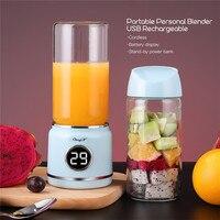 Portable Electric Juicer Blender USB Fruit Mixers Juicers Fruit Extractors Smoothie Blender Orange Lemon Juicer Maker Machine