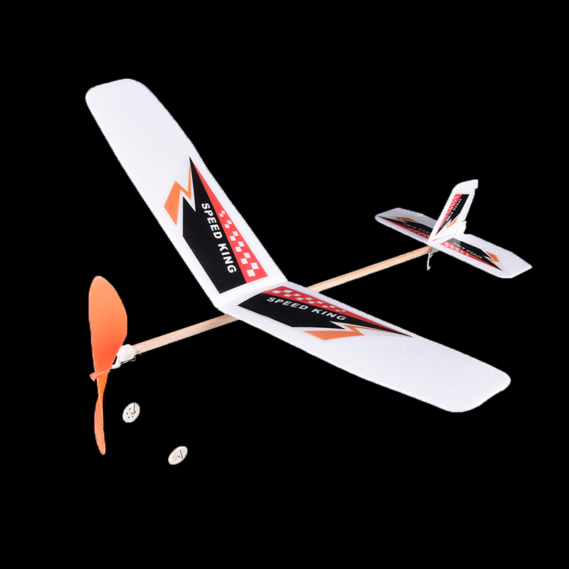 Cheap Price Foam Elastic Powered Glider Plane Thunderbird Kit Flying Model Aircraft Toy Best Chirsmas Gift For Children Diy Educational Toy Diecasts & Toy Vehicles