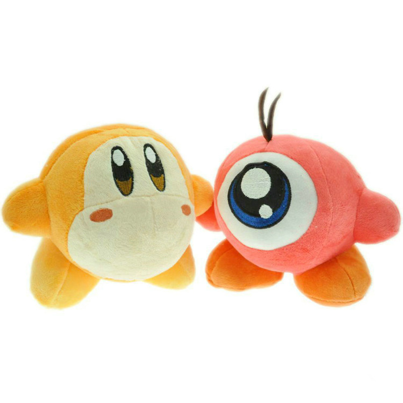 2 styles 14cm cute Waddle Dee & Waddle Doo Kirby Plush Doll Stuffed Toy for kids birthday gifts image