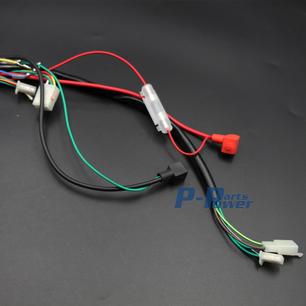Lifan 125 Engine Wiring Diagram Further Assembly Wire Harness 110cc