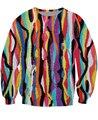 Что Лань Crewneck Толстовка хип-хоп Biggie Smalls уютный Пот Красочные Мода Одежда Женщины Мужчины Топы Повседневная Перемычку