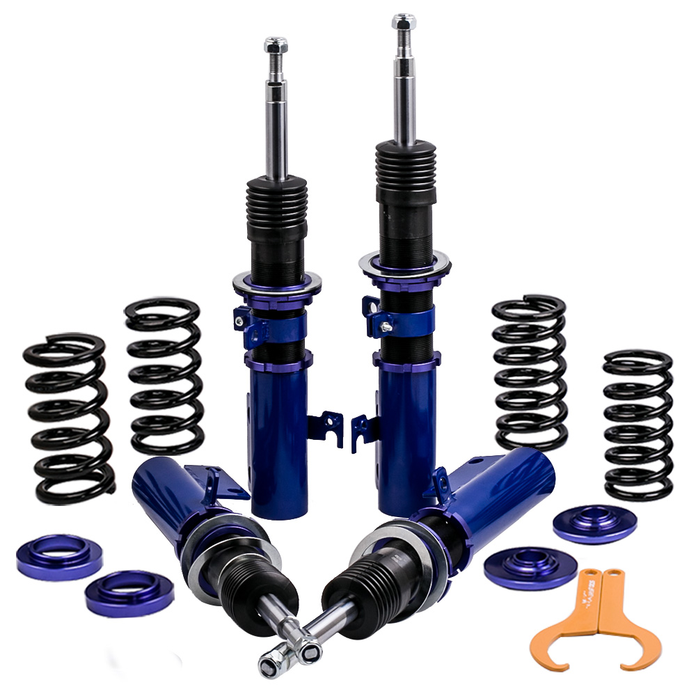 Full set of Coilovers Suspension For Toyota Camry 2007-11 Adjustable Height Shock Strut Top Mount Shock Absorber Spring