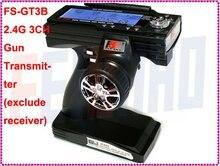F01815 Flysky FS GT3B FS-GT3B 2.4G 3CH Gun Controller Transmitter No receiver , For RC Car Boat Free