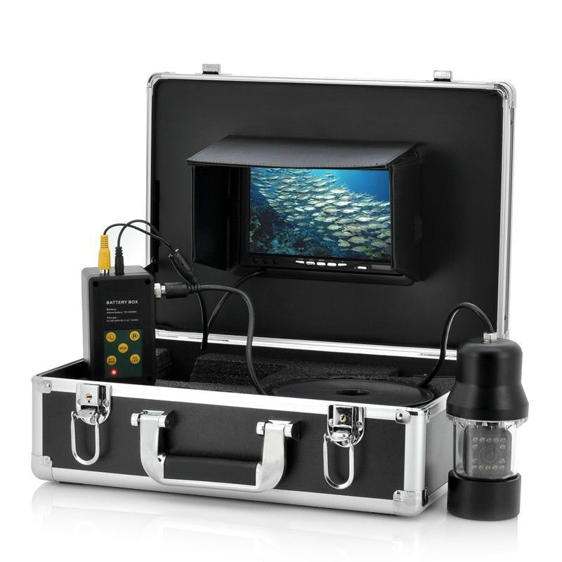 GAMWATER 7 TFT Monitor 50M Cable 360 degree rotate Underwater Camera, Underwater Fishing Camera color fish monitor fish finder велосипед giant trinity composite 1 2013