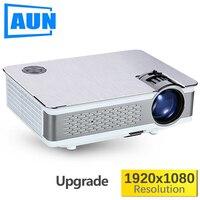 Аун Full HD проектор. AKEY5. 1080 1920 P, обновленный 3800 6000Lumen (пик) (опционально светодио дный 6,0 светодиодный проектор Поддержка 4 К, wifi)