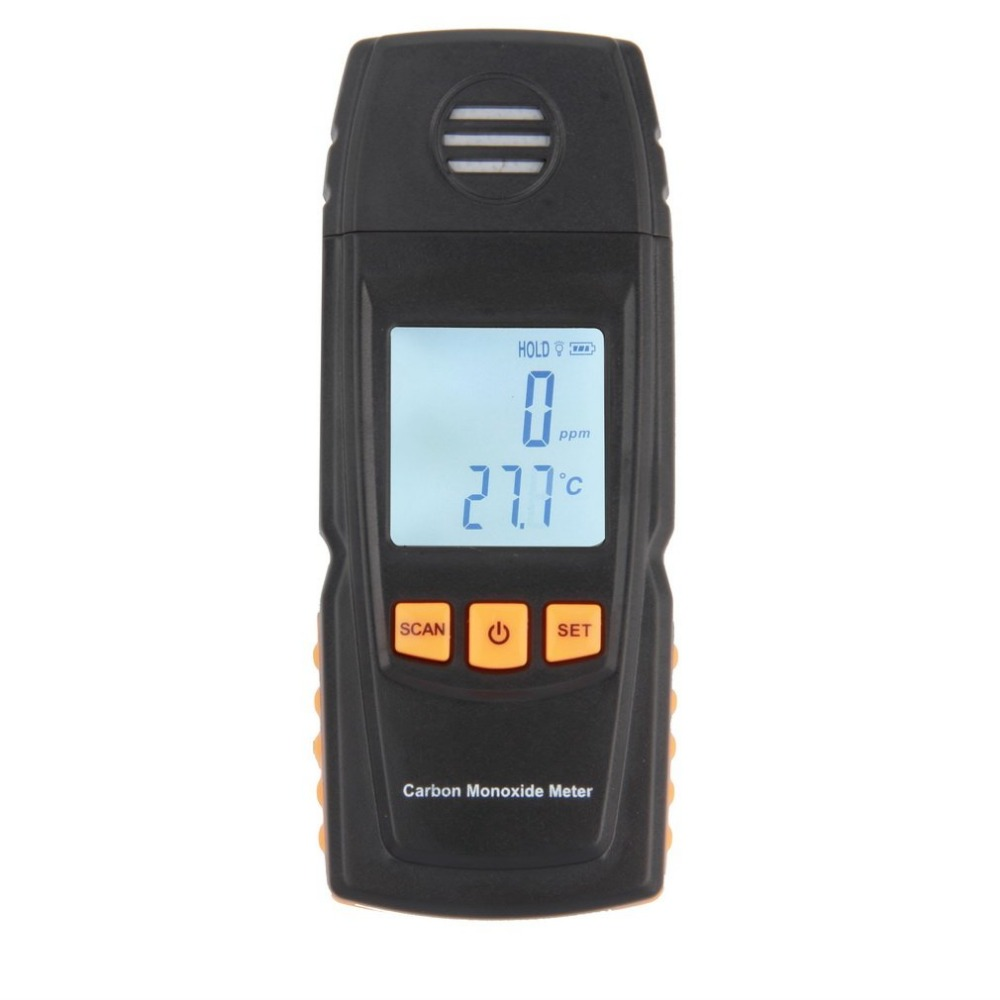 Handheld Meter CO Gas Tester Detector Meter smart sensor portable CO Gas Detector LCD Digital Carbon Monoxide gm8805 portable handheld carbon monoxide meter high precision co gas detector analyzer measuring range 0 1000ppm detector de gas