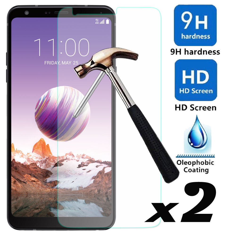 2pcs/lot Tempered Glass Screen Protector Explosion-proof Anti Scratch Front Guard Films For LG Stylo 4 / Q Stylus Plus Q710MS
