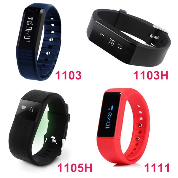 Bluetooth 4.0 wristband pedometer smart band