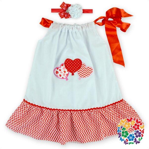 Mode Mädchen Kinder Valentine Kleid Kleid Design Westlichen Partei ...