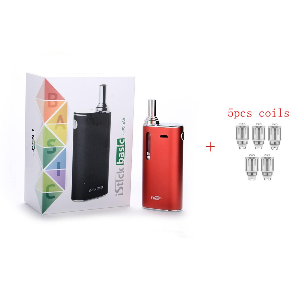 Eleaf iStick di Base Kit sigaretta Elettronica 2300 mah Batteria GS-Aria 2 Atomizzatore 2 ml E-liquido vaporizzatore vs istick 30 w 40 w 50 w
