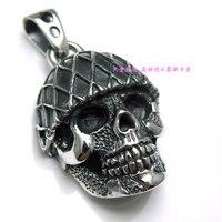 Серебряные черепа подвески