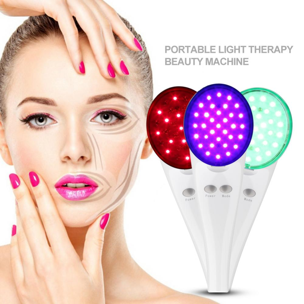 LED Photon Skin Rejuvenation Light Therapy Anti-aging Remove Wrinkle Acne Shrink Pores Skin Lifting Beauty Rejuvenation Machine