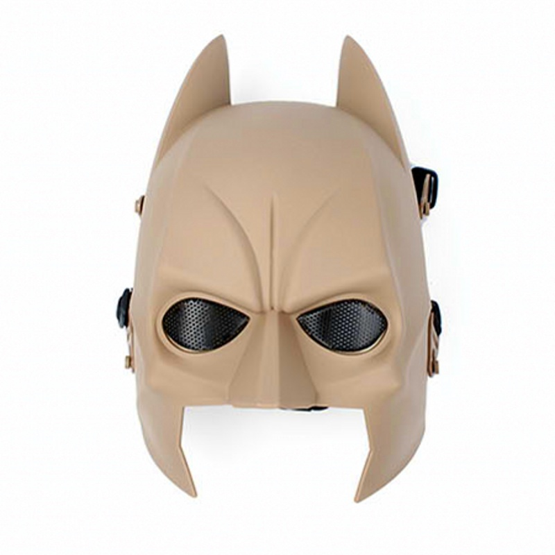 DC09 Batman Full Face Tactical Skull Airsoft Mask Military Army Hunting Paintball Wargame Cosplay Halloween Party Protection