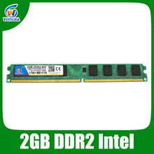 VEINEDA memory ram ddr2 2gb 800mhz ram PC2 6400 for Intel and AMD mainboard compatible with 667 ,533
