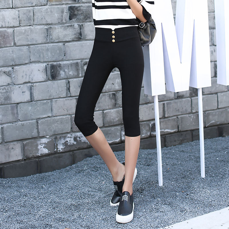 High Quality Black Spandex Capris Promotion-Shop for High Quality ...