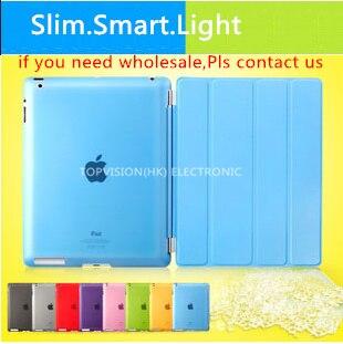 Хороший тонкий психического магнитного нового iPad чехол для Apple Ipad 2 3 4 Smart Cover Случаи кожа флип очень тонкая кожа